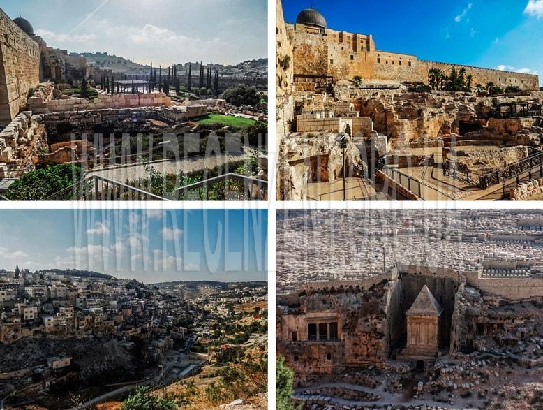 Прогулка вокруг Старого города Иерусалима