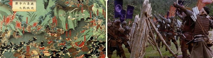 Восстание самураев в Японии