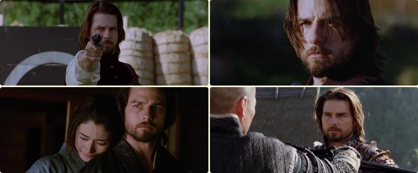 Том Круз в роли Нейтана Олгрена. Том Круз последний самурай