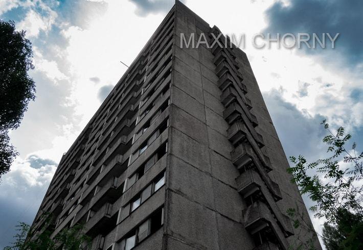 16-storey building in Pripyat, Ukraine