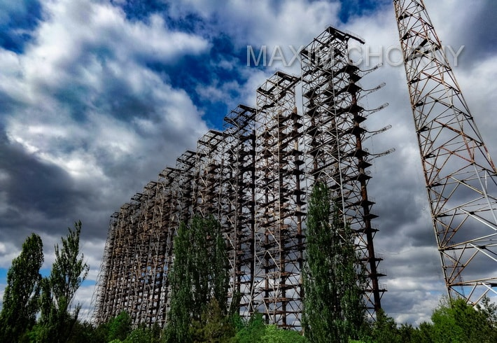 "Second smaller Receiver of the ""Russian Woodpecker"" within Chernobyl 2"