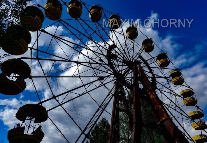 Pripyat Amusement Park - Pripyat Ferris Wheel