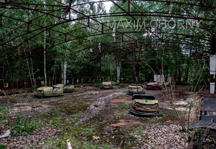Pripyat Amusement Park - abandoned attraction