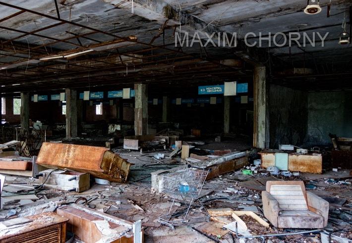 Pripyat - unique panoramic photos 6