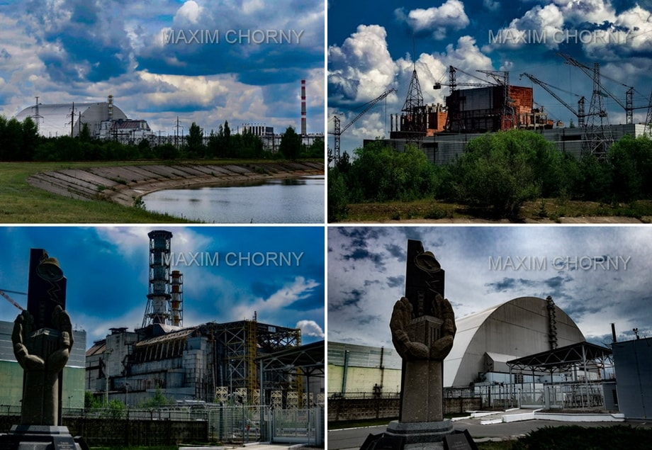 CHERNOBYL NUCLEAR POWER PLANT SITE