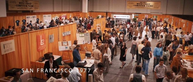 West Coast Computer Faire компьютерная выставка 1977 года