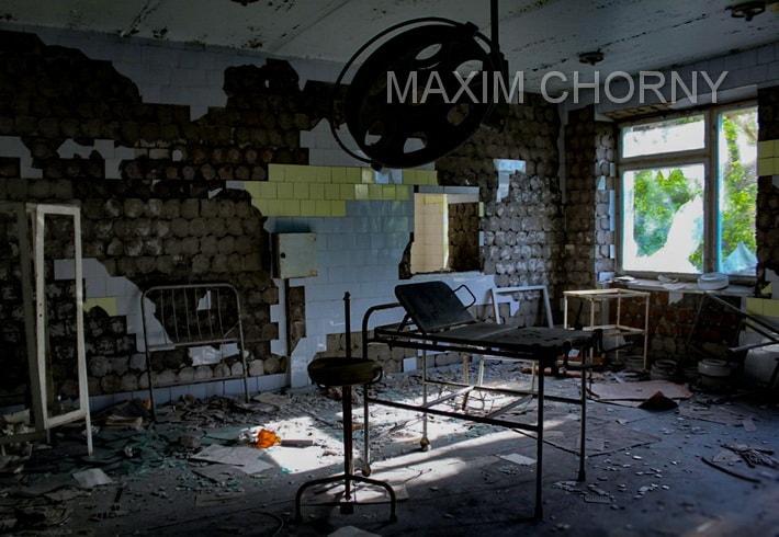 Former surgery in еру Pripyat Hospital
