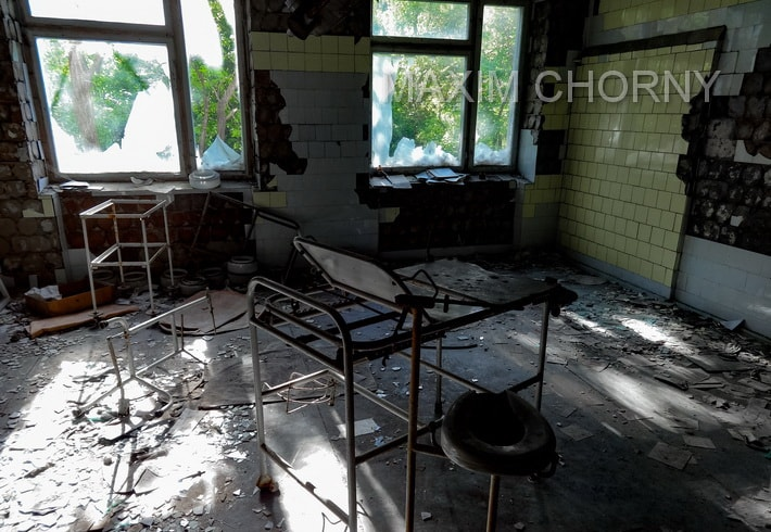 Another open premise in Pripyat Hospital № 126