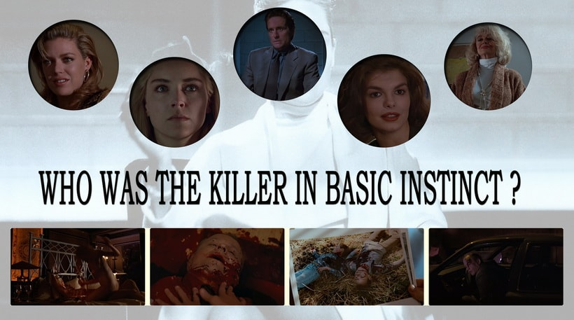 Who was the killer in Basic instinct 1992. Basic instinct eplained