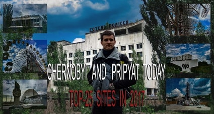 Chernobyl Today and Pripyat city Ukraine