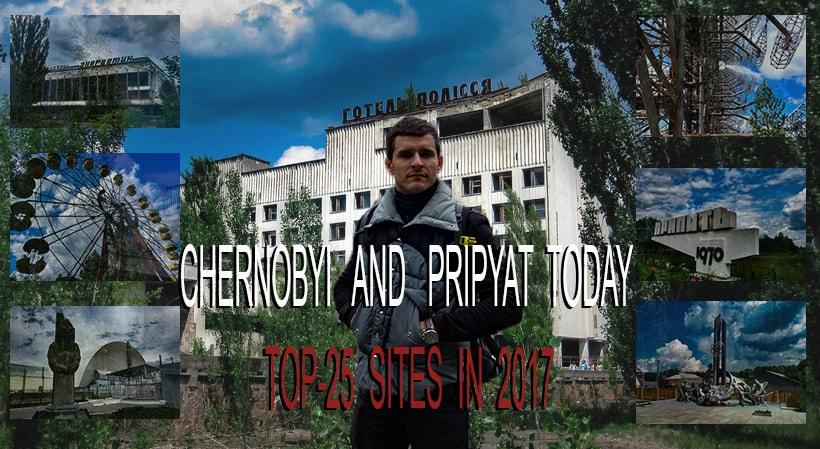Chernobyl today - Pripyat Ukraine 2017