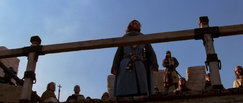 Балиан произносит проникновенные речи о жителях иерусалима