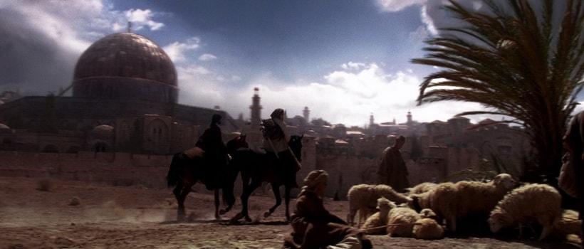 Топографию Иерусалима в фильме Царство небесное