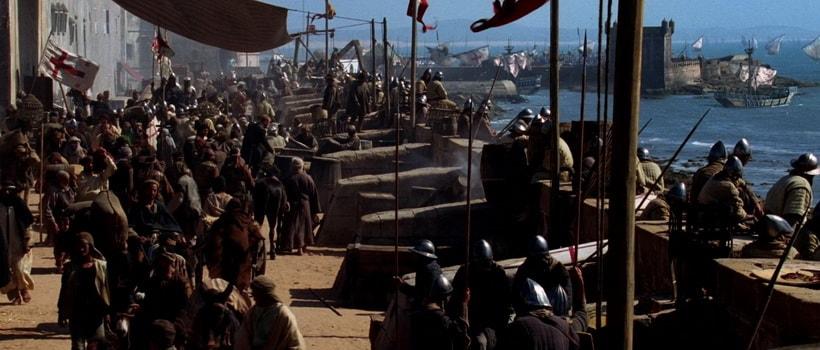 Порт Мессина - отправление крестоносцев в Святую землю