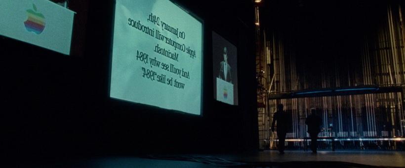 Майк Марккула презентует ролик 1984 Macintosh