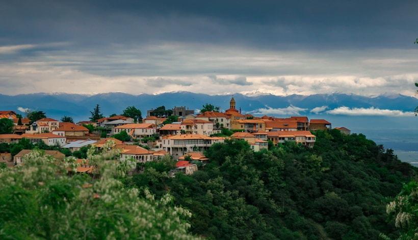 Город Сигнахи. Алазанская долина Что посмотреть в Грузии