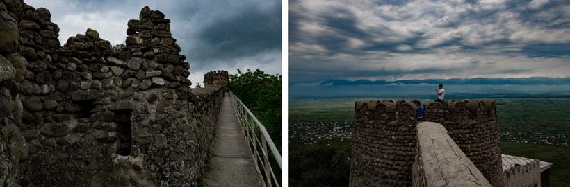 Достопримечательности Грузии - 4км стена вокруг города