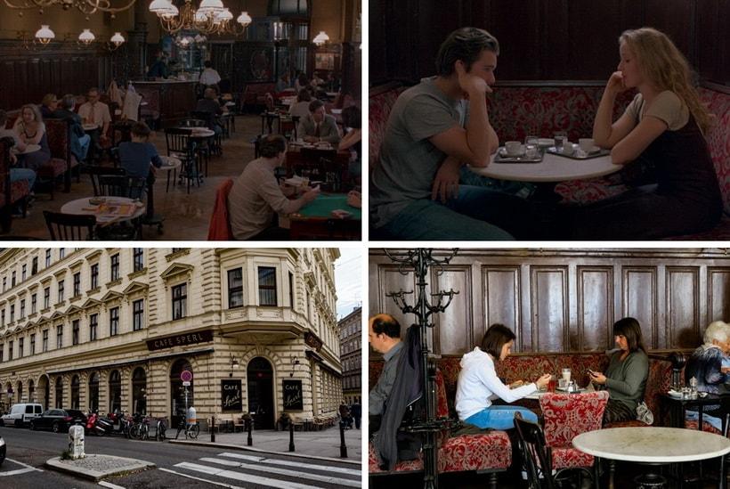 SPERL CAFÉ – PHONE SCENE cafe sperl vienna before sunrise