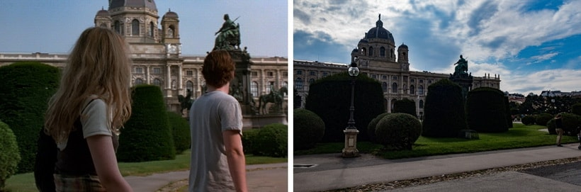 MARIA THERESIEN PLATZ square Jesse and Celin