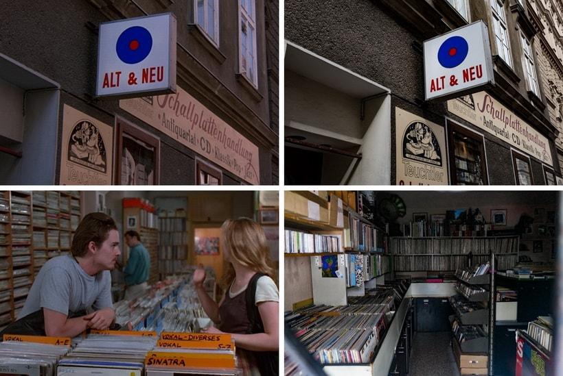 ALT & NEU MUSIC SHOP before sunrise recording store