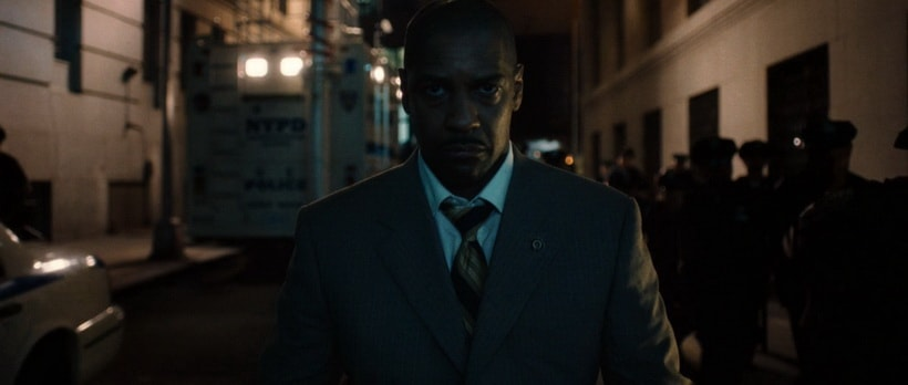 Police Negotiator - Detective Keith Frazier. Densel Washington