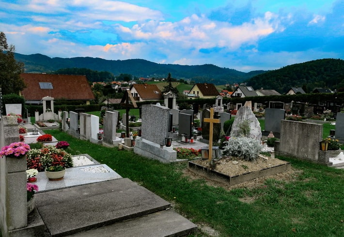 Local Thal cemetery