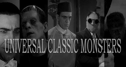Классика фильмов ужасов Universal