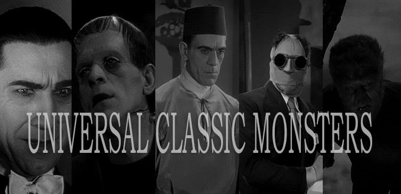 Классика ужасов Universal Pictures - старые фильмы ужасов