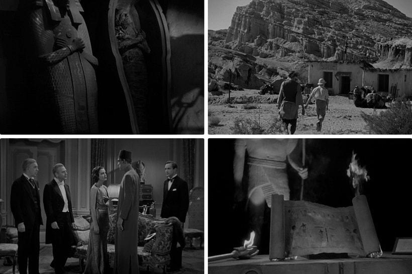 Борис Карлофф в образе Мумии студии Universal Pictures