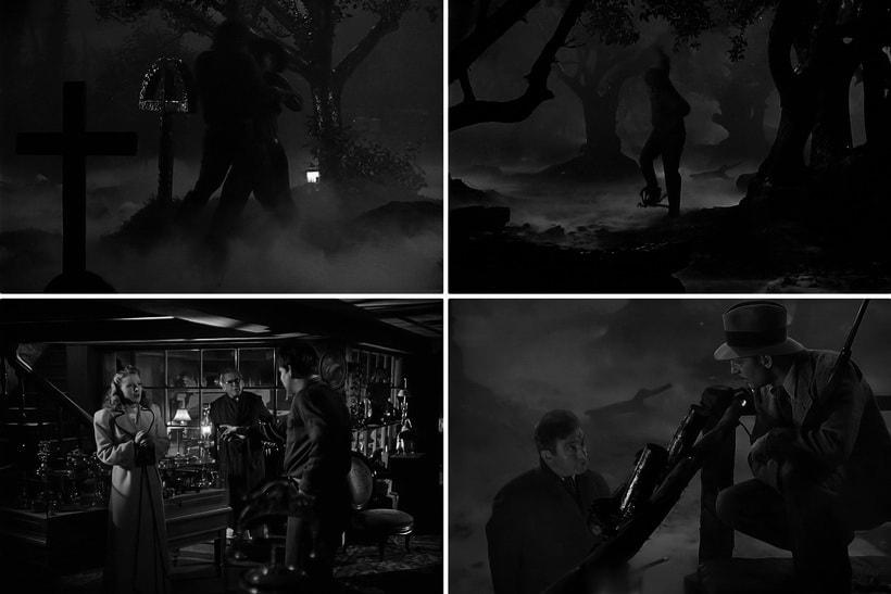 Человек-Волк старое кино ужасы