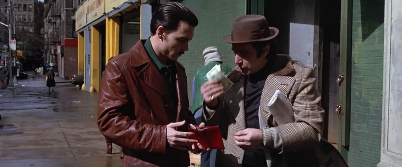 Donnie Brasco movie 1997 Johnny Depp and Al Pacino