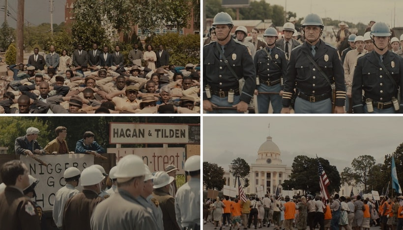 Selma the movies on racism