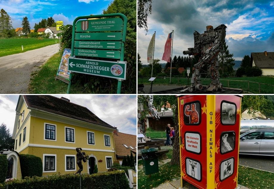 arnold schwarzenegger house in austria