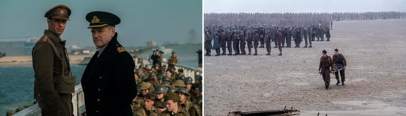 Dunkirk 2017 top movies of the year best war drama by Cristopher Nolan