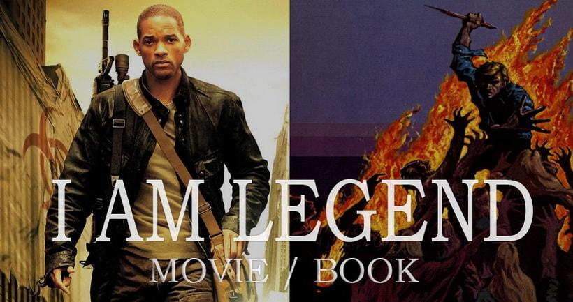 Я легенда сравнение книги и фильма I am legend