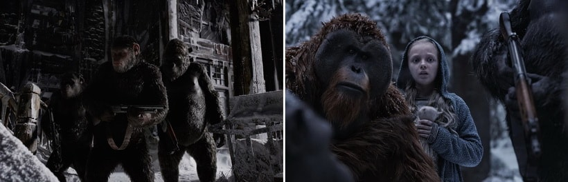 War of the planet of the Apes best movies of 2017