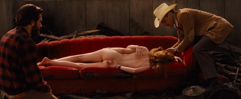 The murder scene in Tom Ford's movie
