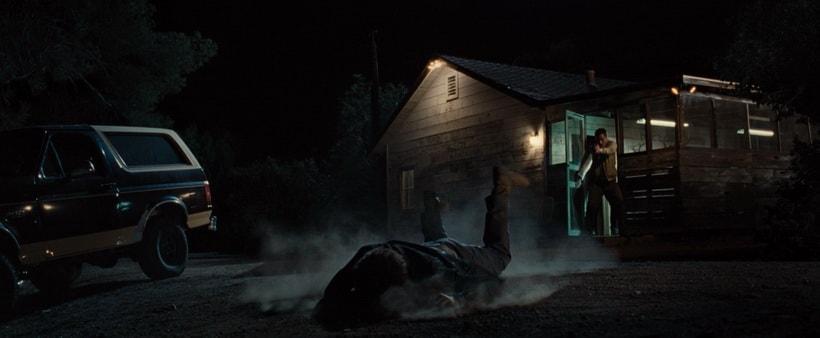 Одна из последних сцен в доме детектива