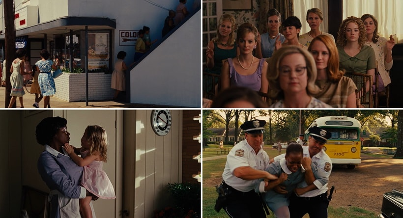 The Help - movies about segreagtion in the USA
