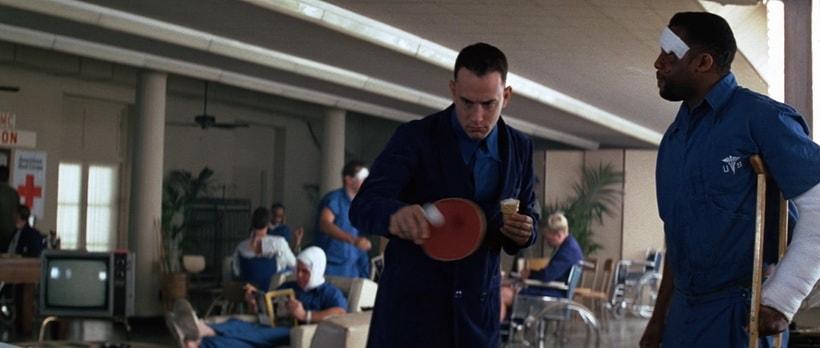 Форрест Гамп и игра в пинг-понг
