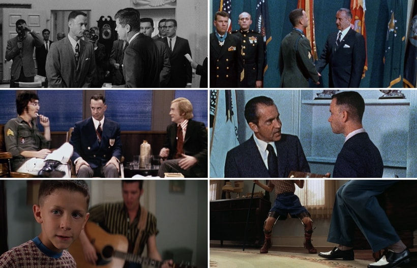 Форрест Гамп и американские культовые личности
