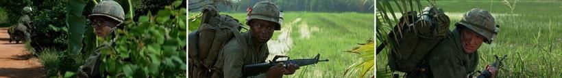 Многонациональная команда служащих во Вьетнаме