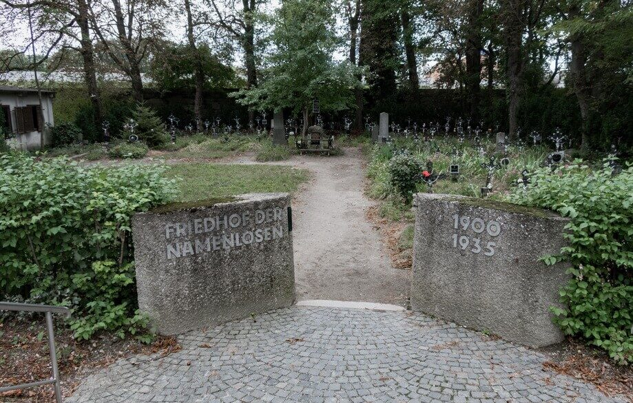 FRIEDHOF DER NAMENLOSEN – CEMETERY OF UNKNOWN Vienna sites