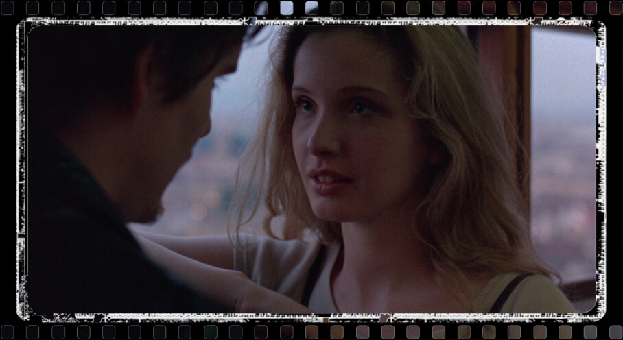 Ethan Hawke and Julie Delpy: Before sunrise