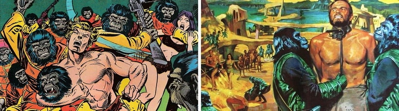 Отличия первого фильма от книги Пьера Буля