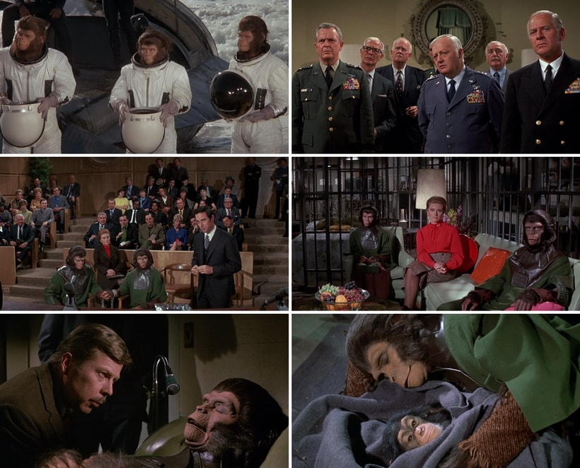 Бегство с Планеты обезьян (1973)