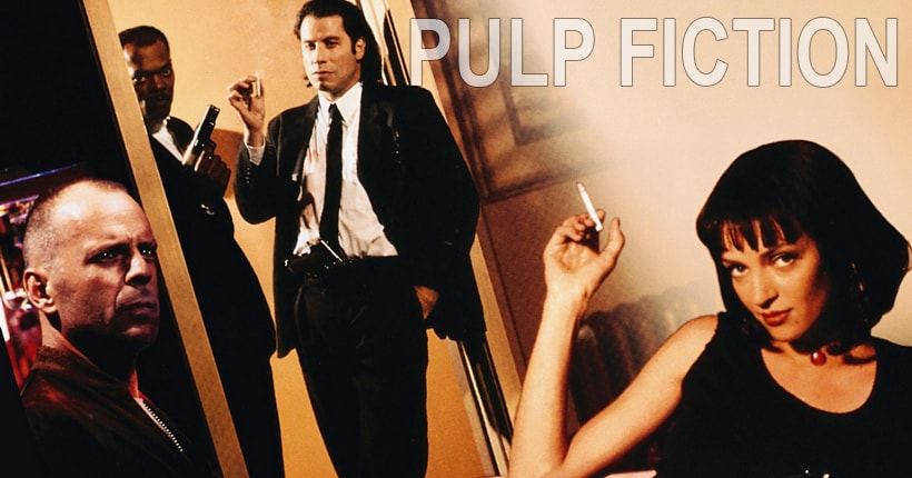 Криминальное чтиво (Pulp fiction 1994) Квентина Тарантино