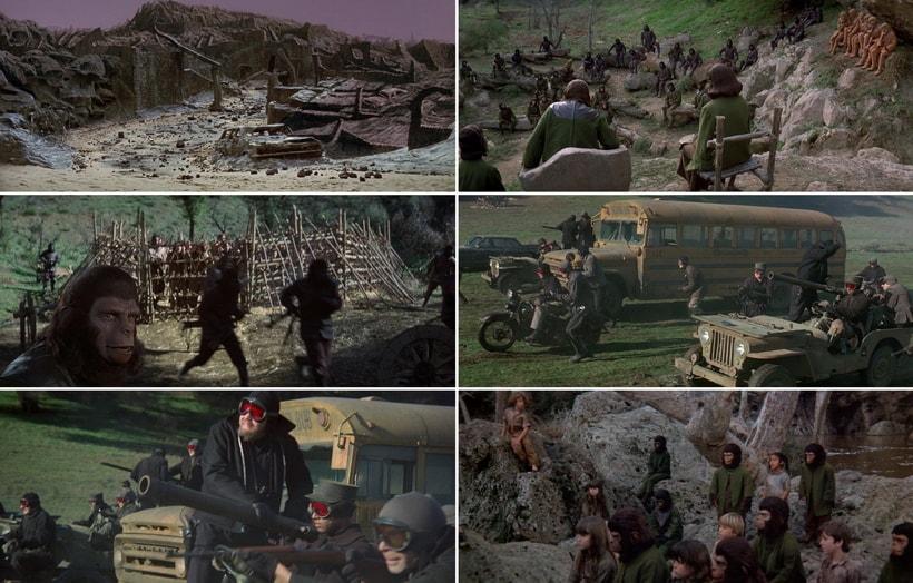 Битва за планету обезьян 1973