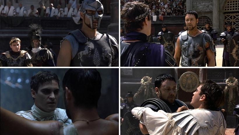 Контрастные отличия между Максимусом и Коммодом