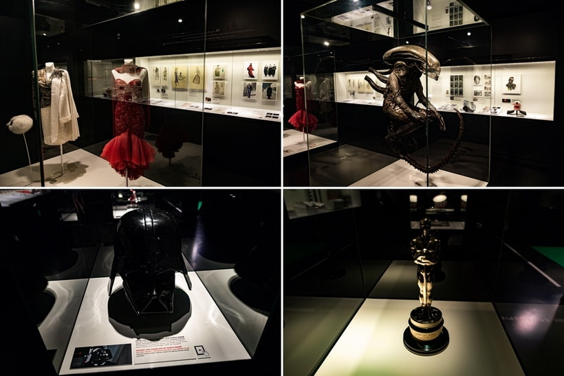 Модель Чужого, шлем Дарта Вейдера, оскар музей кино